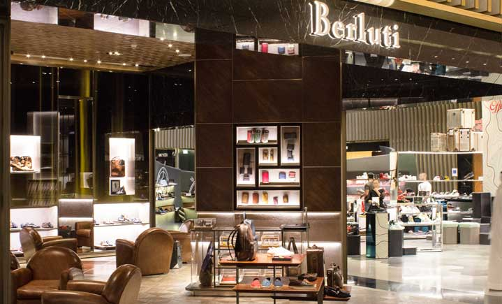 Berluti in der Dubail Mall