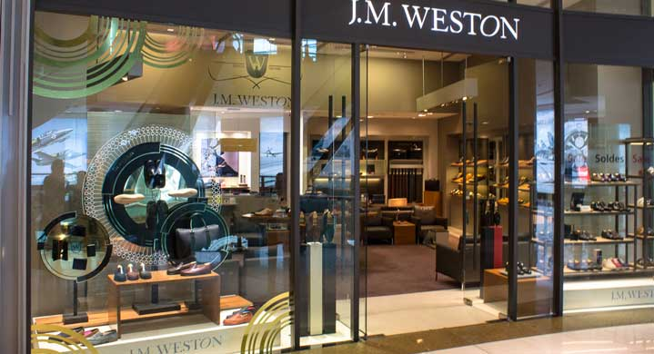 J.M. Weston Filiale in der Dubai Mall