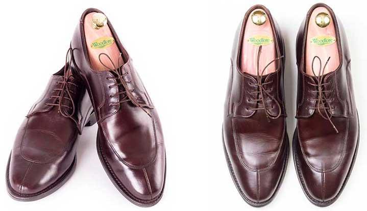 Schuhe vorne geknickt leicht gewellt? (knick)