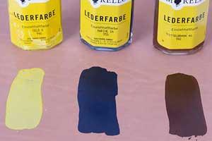 Die richtige Lederfarbe zum Schuhe färben