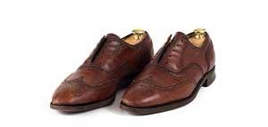 Schuhe färben aus einfarbig wird zweifarbig