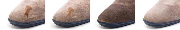 Wie putzt man helle Wildlederschuhe? | Helles Rauleder reinigen | Empfindliches Wildleder pflegen
