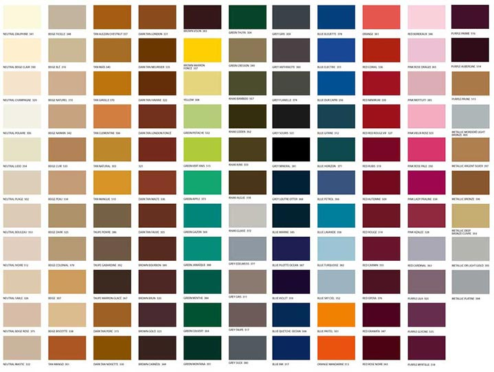100 Pics Farben.Famaco Schuhcreme In über 100 Farben
